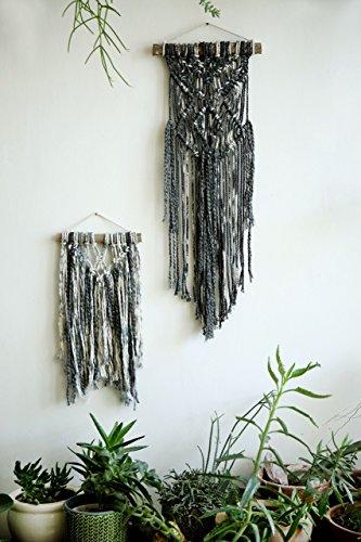 Pair of wall hanging, Small Macrame , Modern Macrame wall decor, Set ...