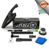 #10: Car Vacuum Cleaner High Power Handheld Portable 12V Interior Cleaning detail Kit [JARVIS 2019] 120W Strong Suction Wet Dry 5KPA Bagless Auto All Vehicle Hepa 4 Attachments Vent Brush & FREE Microfiber