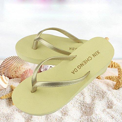 Transer® Damen Blume Slipper PU-Leder+Kunststoff Draußen Drinnen Strand Slipper (Bitte achten Sie auf die Größentabelle. Bitte eine Nummer größer bestellen. Vielen Dank!) Schwarz