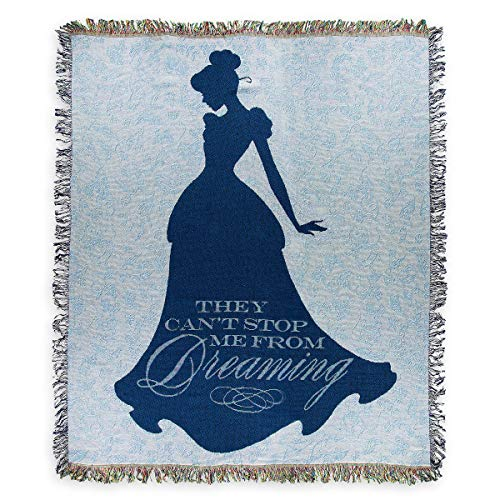 Disney Tapestry Woven Throw - Cinderella - Can