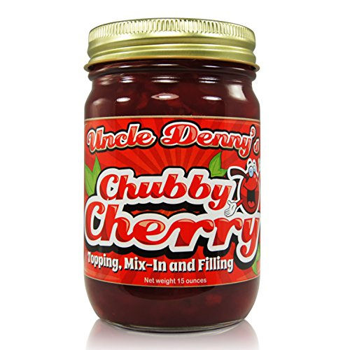 Uncle Denny's Chubby Cherry Gourmet Filling and Topping (15 ounce jar) by Uncle Denny's