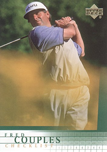 2001 Upper Deck Golf #198 Fred Couples Checklist (Card Deck Upper Golf)
