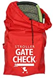 J.L. Childress Gate Check Bag For Standard and Double Strollers - Red