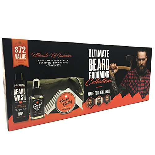 Ultimate Beard Grooming Collection For Men by Wild Willies