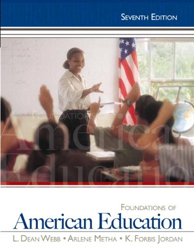 Pdf Teaching Foundations of American Education, 7th Edition
