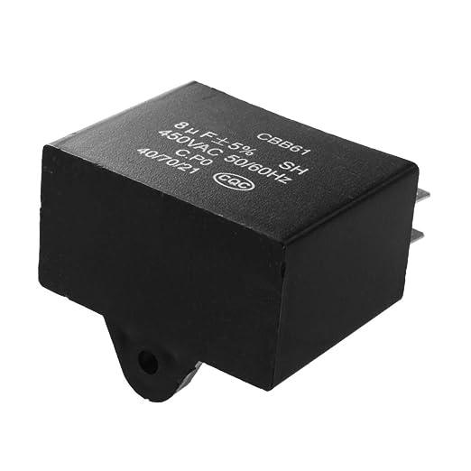 Condensateur 450 Vac Tab 8uf