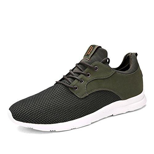 Footwear Heavy Duty (Earsoon Running Shoes Men Tennis Shoes - 2018 Winter Spring Series J-YD17014 for Jogging Walking Athletic Shoes Outdoor Shoes, Heavy Duty (44 M EU / 10-10.5 D(M) US, ArmyGreen))