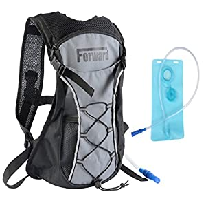 Amazon.com : Hydration Pack with 2L 72 oz Water Bladder BPA Free ...