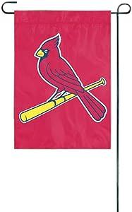 "MLB St. Louis Cardinals Sports Team Logo Garden/Window Flag 15"" x 10.5"""