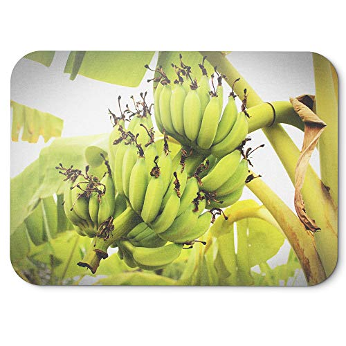 Price comparison product image Westlake Art - Banana Plant - Mouse Pad - Non-Slip Rubber Picture Photography Home Office Computer Laptop PC Mac - 8x9 inch (D41D8)