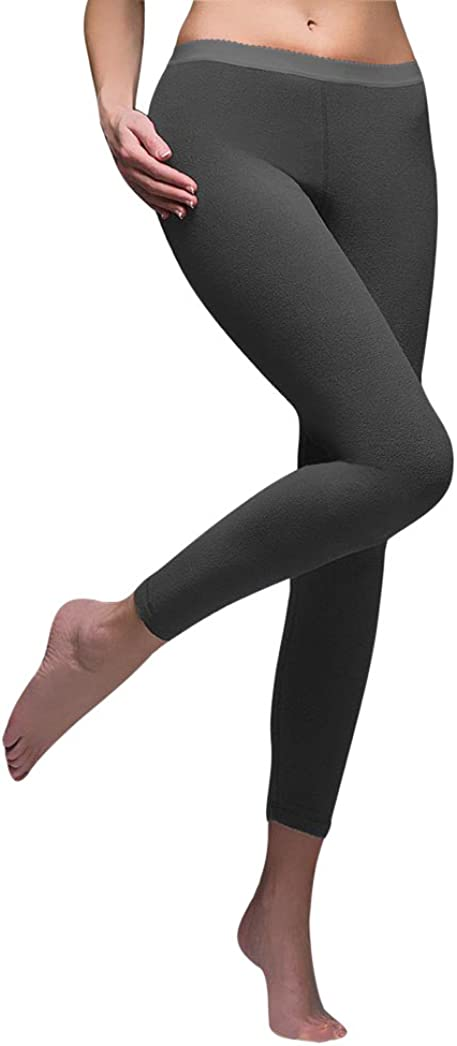 HEAT HOLDERS Women's 0.61 tog Microfleece Thermal Base Layer Leggings/Bottoms