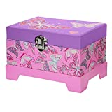 3C4G Butterfly Musical Jewelry Box