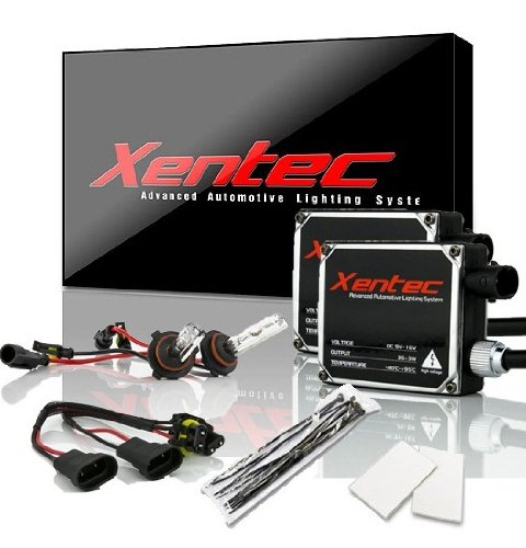 Xentec 9005 6000K HID xenon bulb x 1 pair bundle with 2 x 35W Digital Ballast (Ultra White, also fit 9011,9055,9145,HB3,H12)