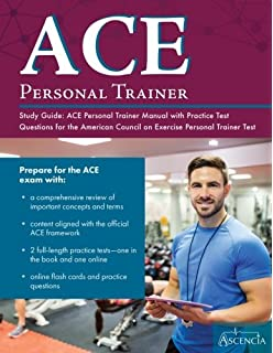 Ace certified personal trainer exam prep 2018 edition study guide ace personal trainer study guide ace personal trainer manual with practice test questions for the fandeluxe Gallery