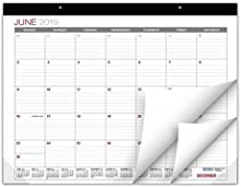 """Professional Desk Calendar 2019-2020: Large Monthly Pages - 22""""x17"""" - Runs from June 2019 Through December 2020 - Desk/Wall Calendar can be Used Throughout 2019-2020"""