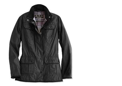0f173fe385844 Amazon.com: Barbour Women's Utility Waxed Cotton Jacket: Clothing
