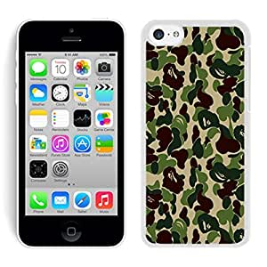 Diy Popular Iphone 5C Case Coolest Camo White Durable Soft Silicone Cell Phone Cover for Apple Iphone 5C Accessories