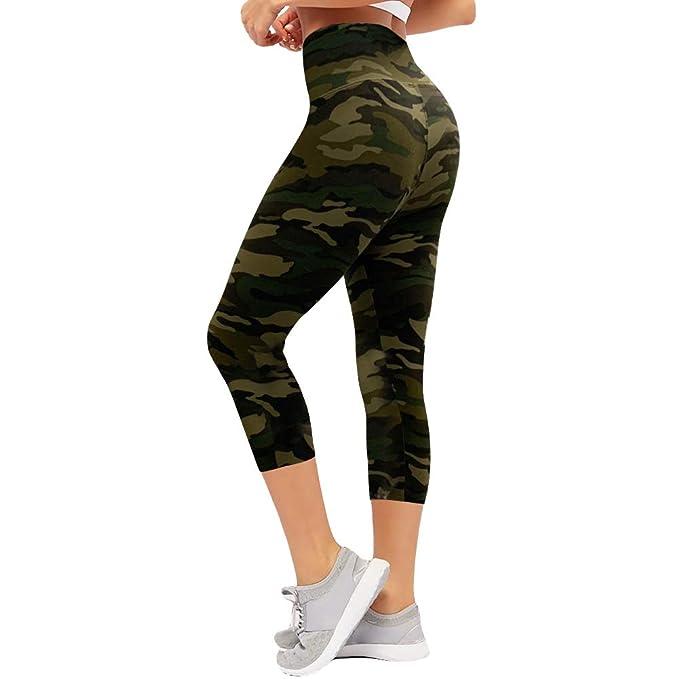Amazon.com: CAMPSNAIL - Leggings de cintura alta para mujer ...