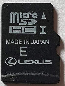 Micro Tarjeta SD GPS Lexus Gen8 Europe Russie 2019 2020 v1 ...