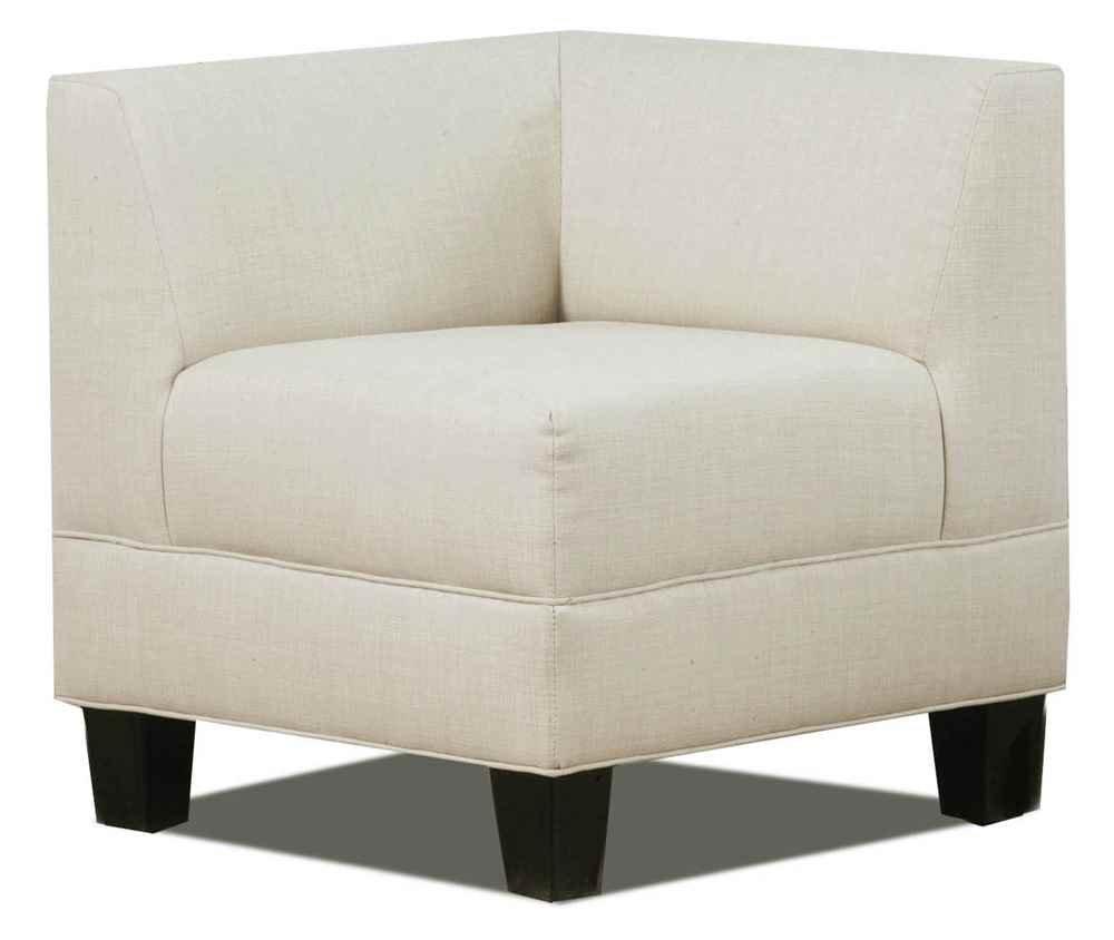 Amazon.com: Carolina Accents Makenzie Corner Chair, Ash: Kitchen U0026 Dining