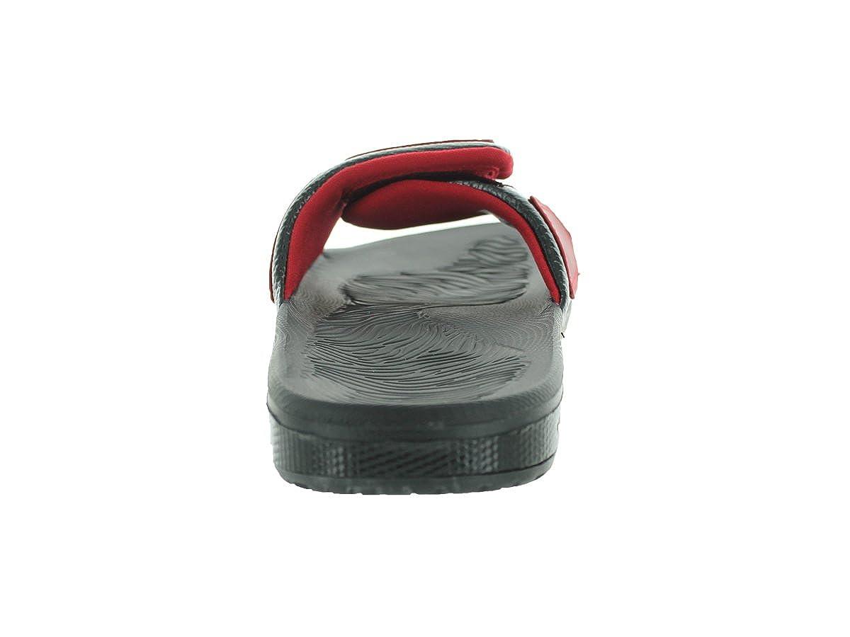 32f1909c021685 Nike Jordan Hydro 3 Men Sliders Black Gym Red White 630754-002 (Size  7)   Amazon.co.uk  Shoes   Bags