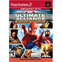 Marvel Ultimate Alliance Special Edition includes Bonus Disc for Playstation 2