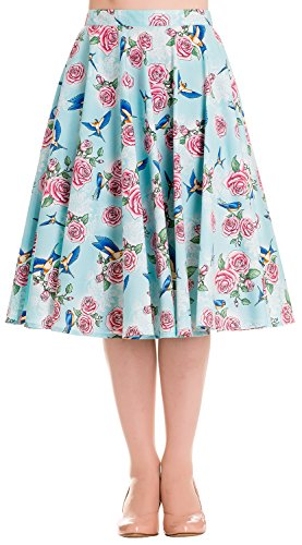 Hell-Bunny-Lacey-50s-Skirt