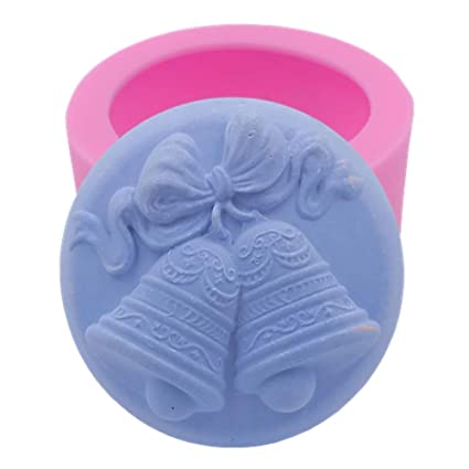 3d Bell Handmade Silicone Mold Soap Candle Mould Diy Craft Molds Christmas Mold