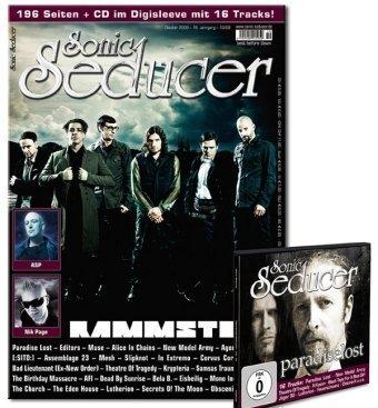 Sonic Seducer 10-09 inkl. M'Era Luna Sonderheft & CD + 4 Poster von Epica, Editors, Schandmaul und Slipknot; Bands u. a. Rammstein, ASP, Nik Page uvm.