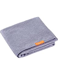 """Aquis Hair Towel Lisse Luxe 19"""" X 42"""" - Cloudy Berry"""