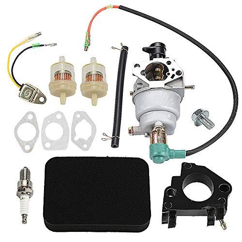 Harbot EM5000S Carburetor for Honda EB5000X EM5000SX EM5000X EW171 EB6500X 5000 Generator with Air Filter Tune Up Kit