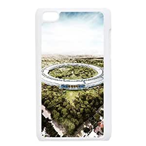 Apple Campus Spaceship iPod Touch 4 Case White Delicate gift JIS_239158