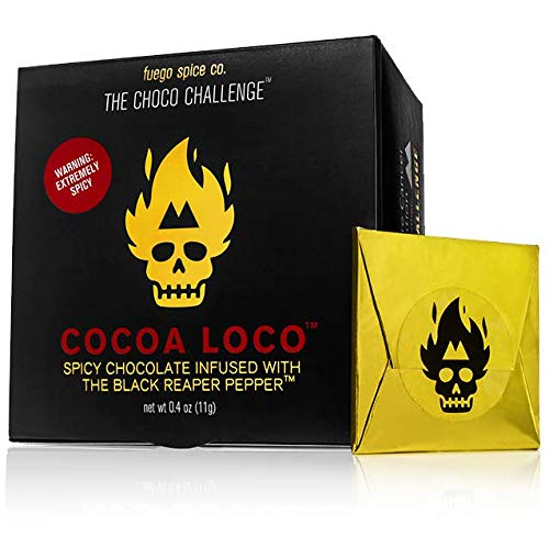 - The Choco Challenge - Cocoa Loco Black Reaper - The Best and Hottest Chocolate Challenge In The World