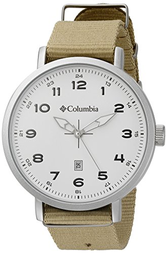 Columbia Men's CA023-280 Field master III Analog Display Analog Quartz Beige Watch
