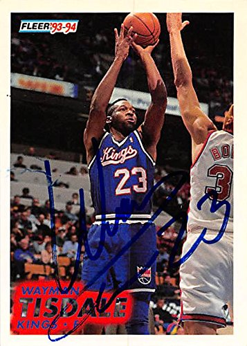Autograph 179178 Sacramento Kings 1993 Fleer No. 185 Waym...