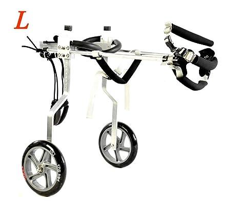 Silla de ruedas para perros de 2 ruedas adecuada para perros ...