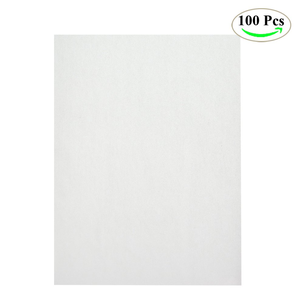 Parchment Paper Baking Liner Sheets, NUIBY Pan Liner - Small 9 x 13'' White Precut Non-stick Baking Paper, 100 Counts
