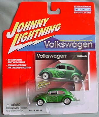 Johnny Lightning Volkswagen 1964 Beetle GREEN by Playing ...