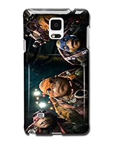 Tomhousomick Fashion High Quality Teenage Mutant Ninja Turtles Funny Design Case for Samsung Galaxy Note4 N9100 Nunchucks Long Staff Double Swords Double fork