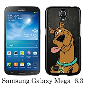 Scooby Doo 1 Black Samsung Galaxy Mega 6.3 i9200 i9205 Screen Phone Case Unique and Fashion Design