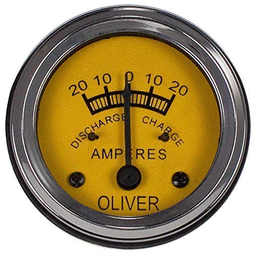 Price comparison product image 608747A Oliver Tractor Ammeter Gauge HG OC-3 OC-4 OC-6 Super 44,  Super 55,  Super 77,  Super 88,  Super 99 GM,  [ 60,  70,  80,  66,  77,  88,  99,  44