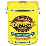 CABOT SAMUEL INC 3000-08 5 Gallon, Natural, Wood, Dark Toned Deck & Siding Stain