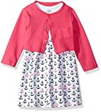 Luvable Friends Baby and Toddler Girl Dress and