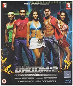Dhoom 2 2006 Blu-ray Bollywood Movie / Indian Cinema