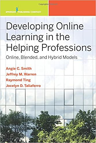developing online learning in the helping professions online