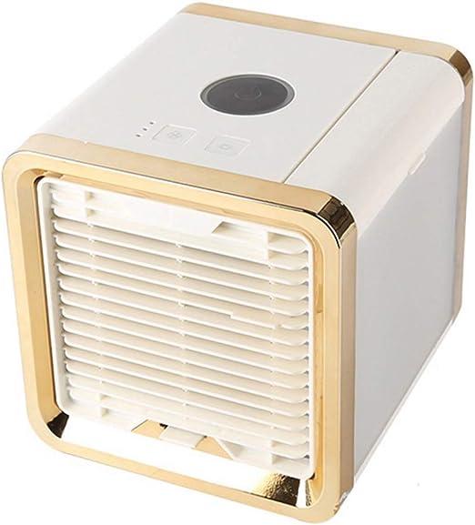 Portátil 7 Colores Luz LED Refrigerador de Aire Aire Acondicionado ...