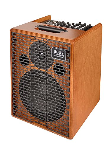 Rivera Acoustic Amps - Acus Sound Engineering 03000801 OneforStrings 8 Acoustic Guitar Amplifier - Wood