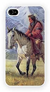 Horseback Indian 2 Cell Phone Funda Para Móvil Case Cover for iPhone 5 / 5s
