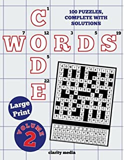 large print code words volume 2