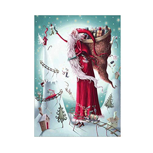lightclub Christmas Santa Claus DIY Full Resin Diamond Painting Cross Stitch Home Decor s636]()